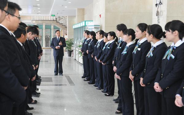 中国平安集团工作服案例