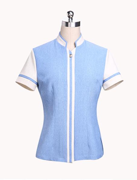 乐动体育官网下载app短袖女式保洁工服订做
