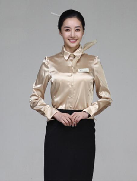 乐动体育官网下载app定做长袖雪纺衬衣女式