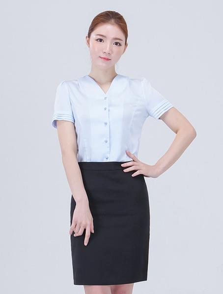 乐动体育官网下载app订制商场员工衬衣时尚