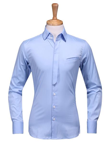 乐动体育官网下载app定做蓝色长袖衬衣哪个