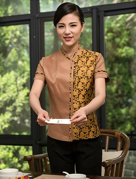 乐动体育官网下载app订做中式餐饮制服款式